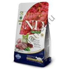 N&D Cat Quinoa Digestion Lamb-ЯГНЕНОК И КИНОА ДЛЯ ПОДДЕРЖКИ ПИЩЕВАРЕНИЯ КОТОВ И КОШЕК