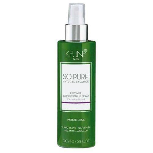 Keune So Pure Кондиционер-спрей Восстанавливающий Recover Conditioning Spray, 200 мл.