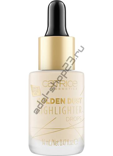 Catrice - Жидкий хайлайтер Golden Dust Highlighter Drops