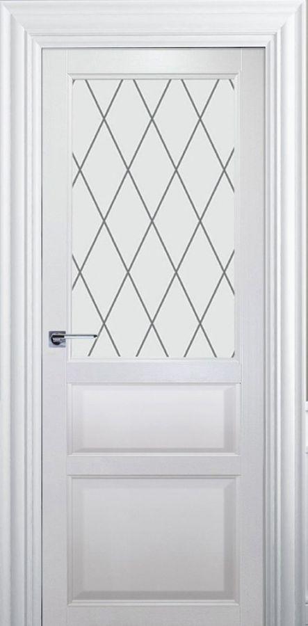 Дверь Каролина ДО  стекло Ромб