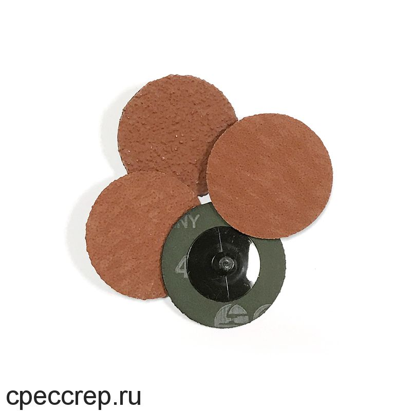 RoxelPro Зачистной круг ROXPRO QCD 75мм, керамика, Р40