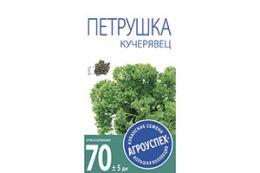 СЕМЕНА ПЕТРУШКА ЛИСТОВАЯ 'КУЧЕРЯВЕЦ' 3 Г (10/500) 'АГРОУСПЕХ'