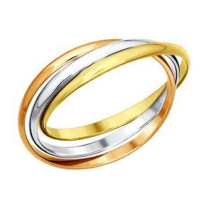 Тройное кольцо «Trinity» 011069 SOKOLOV