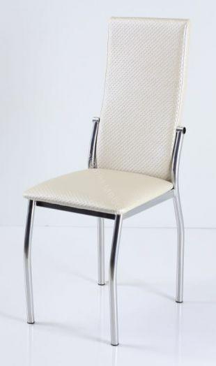"Кухонный стул ""B-610"" (Капитон/Хромированный металл)"