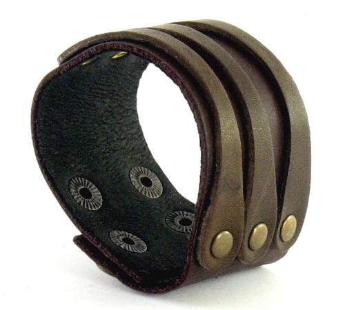 Кожаный браслет NewTec-7