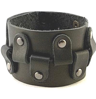 Кожаный браслет NewTec-22