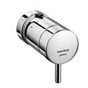 """Термостат """"pinox D"""" хромированный с декоративным кольцом на гайку Oventrop 1012175"""