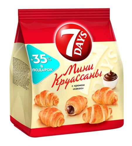 Круассаны 7 Days мини крем какао 200г