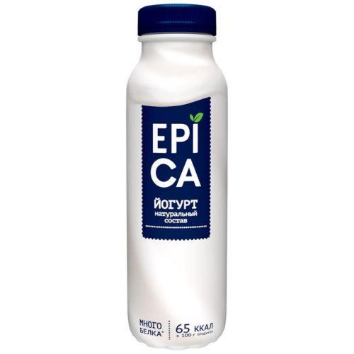 ...Йогурт Epica питьевой в ассортименте 290 г, 2,9%