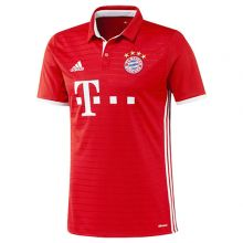 Игровая футболка клуба adidas Fussball Club Bayern Home Jersey красная