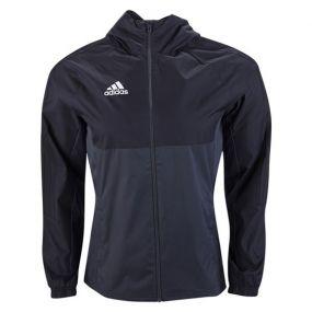Детская ветровка adidas Tiro 17 Rain Jacket чёрная