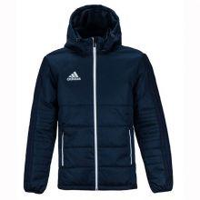 Куртка adidas Tiro 17 Winter Jacket длинная зимняя тёмно-синяя