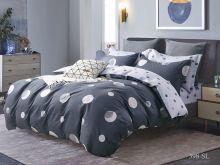 Комплект постельного белья Сатин SL 1.5 спальный  Арт.15/398-SL