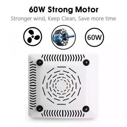 Пылесос для маникюра STRONG с фильтром 60Вт