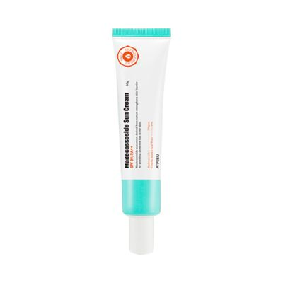 Крем для лица солнцезащитный с мадекассосидом A'PIEU Madecassoside Sun Cream 40гр