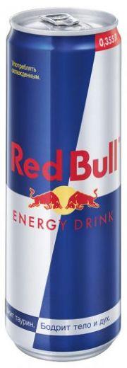 Напиток Red Bull энергетический газированный безалкогольный 0,355л