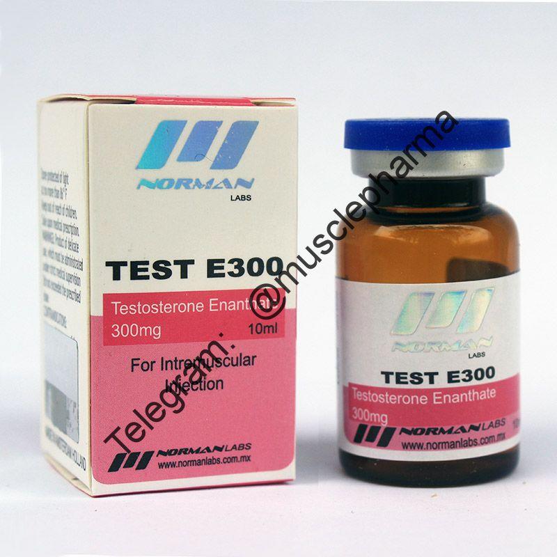 TEST E300 (NORMAN LABS). 300mg/ml 10ml * 1 флакон