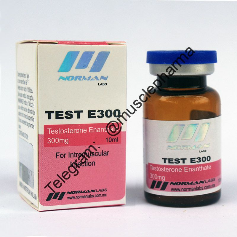 TEST E300 (NORMAN LABS). 300mg/ml 10ml * 1 флакон