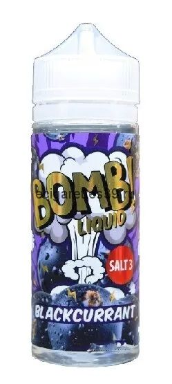 Жидкость Cotton Candy Bomb Blackcurrant, 120 мл.