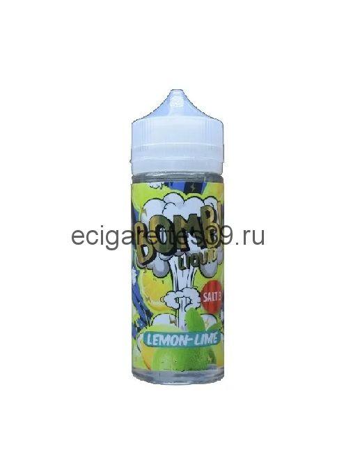 Жидкость Cotton Candy Bomb Lemon Lime, 120 мл.