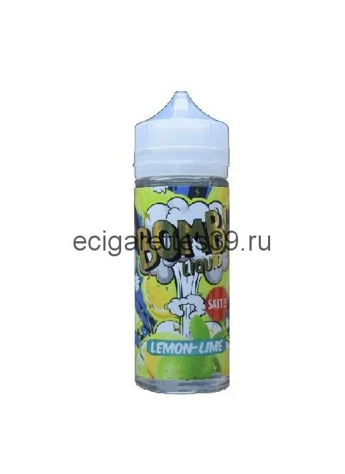 Жидкость Cotton Candy Bomb Lemon Lime, 120 мл.