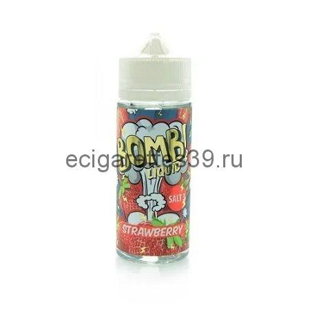Жидкость Cotton Candy Bomb Strawberry, 120 мл.