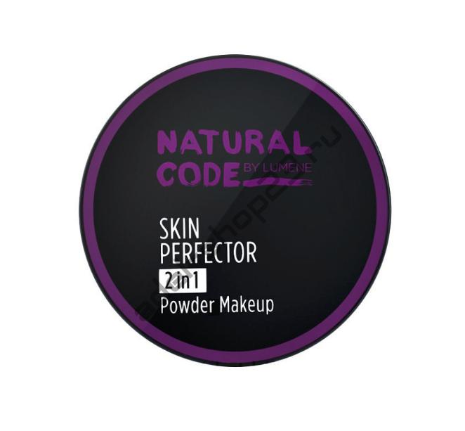Lumene - Крем-пудра 2в1 Natural Code Skin Perfector