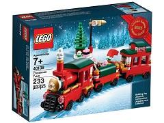 Рождественский поезд. Конструктор ЛЕГО Новый год 40138