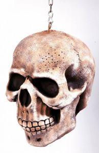 Латексный череп подвесной ( 20 см)