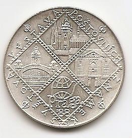 Всемирная выставка филателии в Праге 100 крон Чехословакия 1988