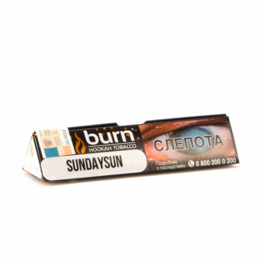 Burn Sunday Sun