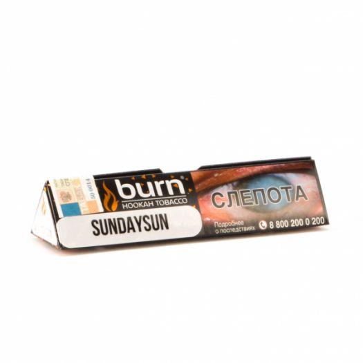 Burn Sunday Sun