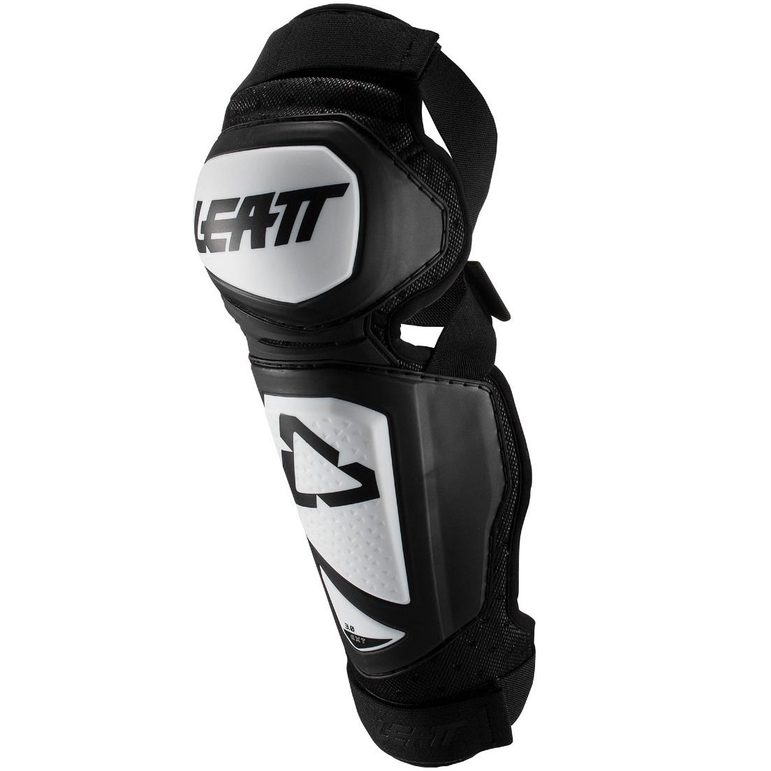 Leatt - 2019 3.0 EXT Knee & Shin Guard White/Black защита колен, бело-черная