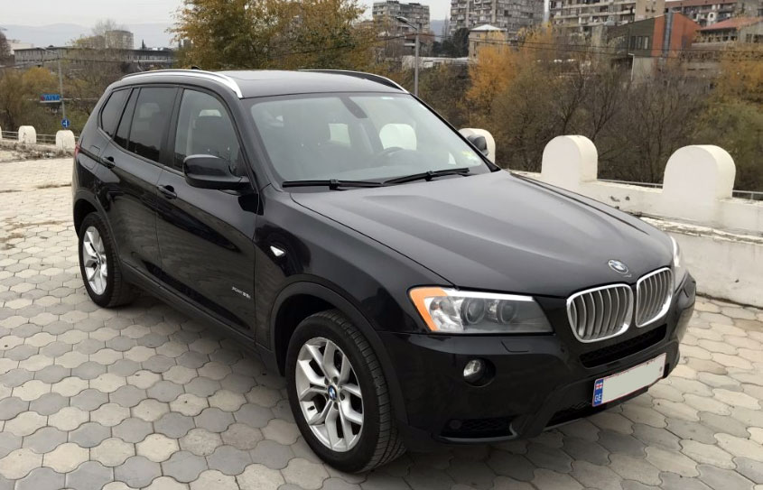 BMW X3 2012г. 3.0л. Типтроник 4х4