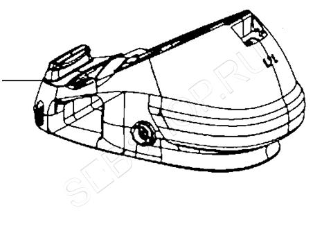 Бак для воды в сборе парогенератора TEFAL (Тефаль) EXPRESS EASY CONTROL GV7781. Артикул CS-00137279