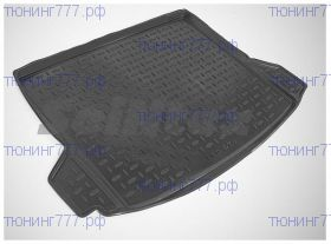 Коврик (поддон) в багажник, Сеинтекс, резиновый, GT F07 полный привод