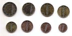 Годовой набор монет евро Нидерланды 2019