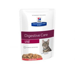 Hill's Prescription Diet Feline i/d Salmon 85 гр.