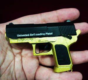 Мини-пистолет (стреляет пульками)