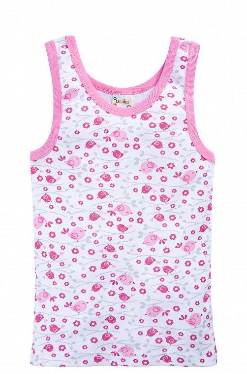 Майка для девочки Розовые пташки