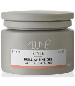 Keune Стиль Гель бриллиантин/ STYLE BRILLIANTINE GEL, 75 мл.