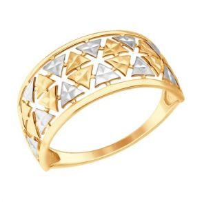 Кольцо SOKOLOV 017364 золото 585