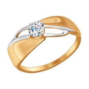 Кольцо SOKOLOV 017187 золото 585