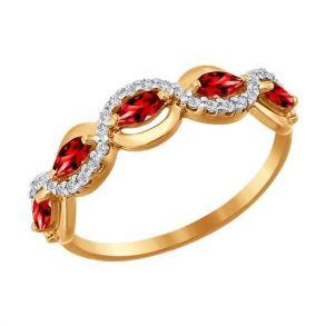 Кольцо SOKOLOV 016648 золото 585
