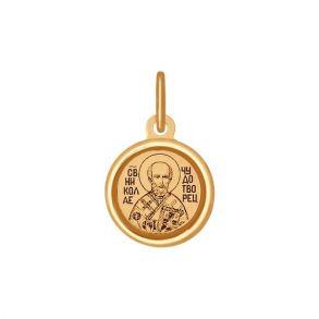 Подвеска SOKOLOV 103991 золото 585