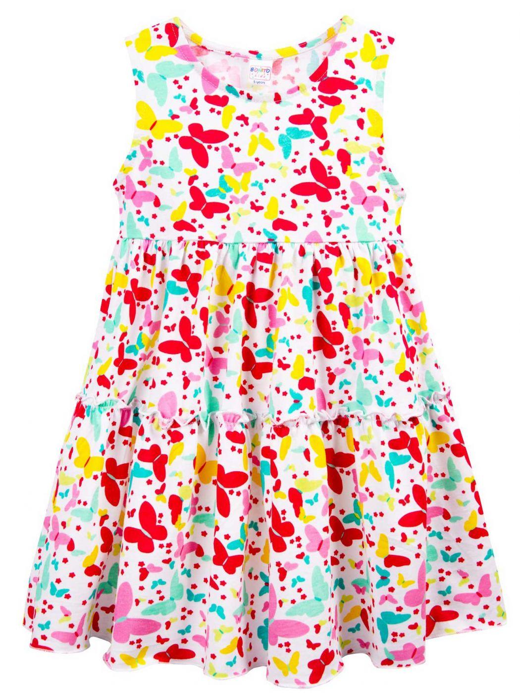 Платье для девочки 2-5 лет Bonito BJ1159P6