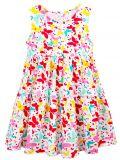 Платье для девочки 2-5 лет Bonito BJ1159P молочный