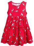 Платье для девочки 2-5 лет Bonito BJ1159P малиновый