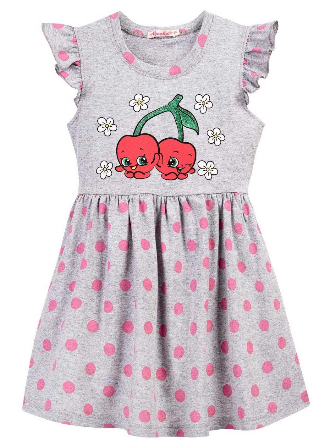 Платье для девочки 3-7 лет Bonito BJ1168P
