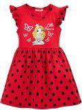Платье для девочки 3-7 лет Bonito BJ1168P красный
